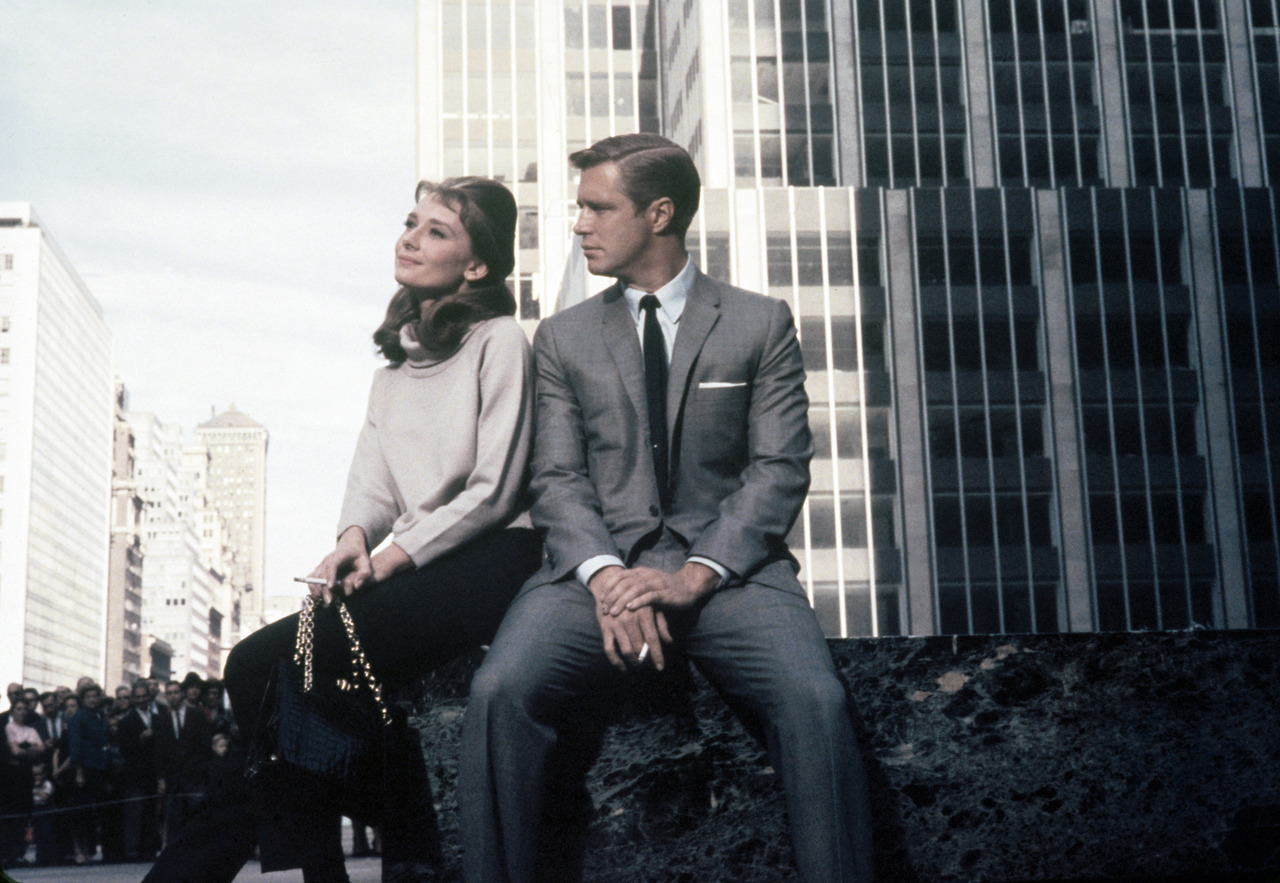 Breakfast at Tiffany's (1961) Directed by: Blake Edwards Cast: Audrey Hepburn, George Peppard, Patricia Neal, Mickey Rooney