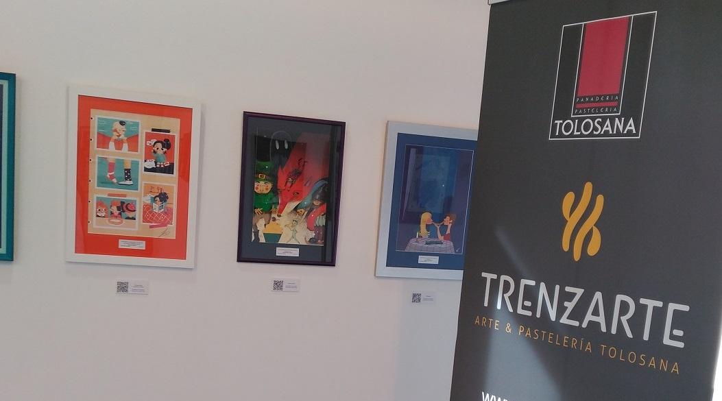 Territorio Zaragoza: Exponemos en la sala Joaquín Roncal