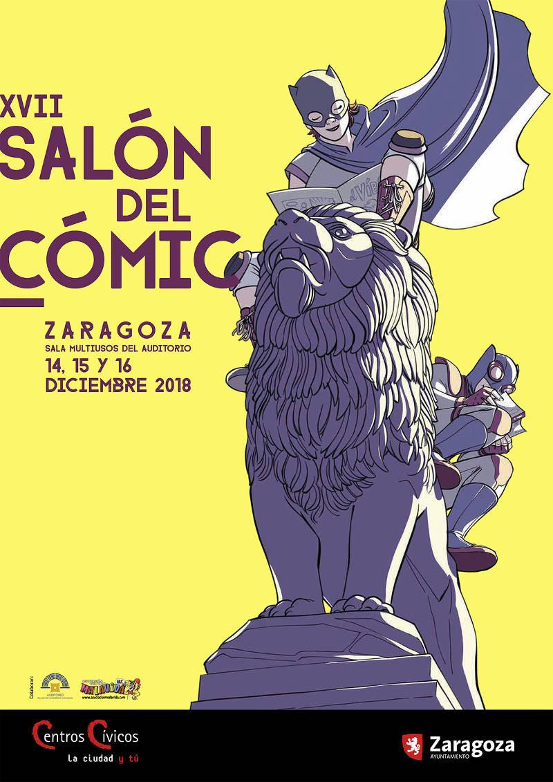 Llega el XVII Salón del Cómic a Zaragoza