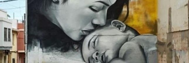 Amor de madre en la calle…